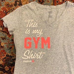 Reebok Cotton Gym Shirt